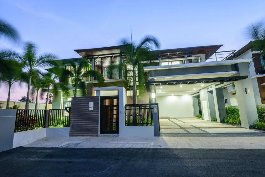 עיצוב בית עם בטון